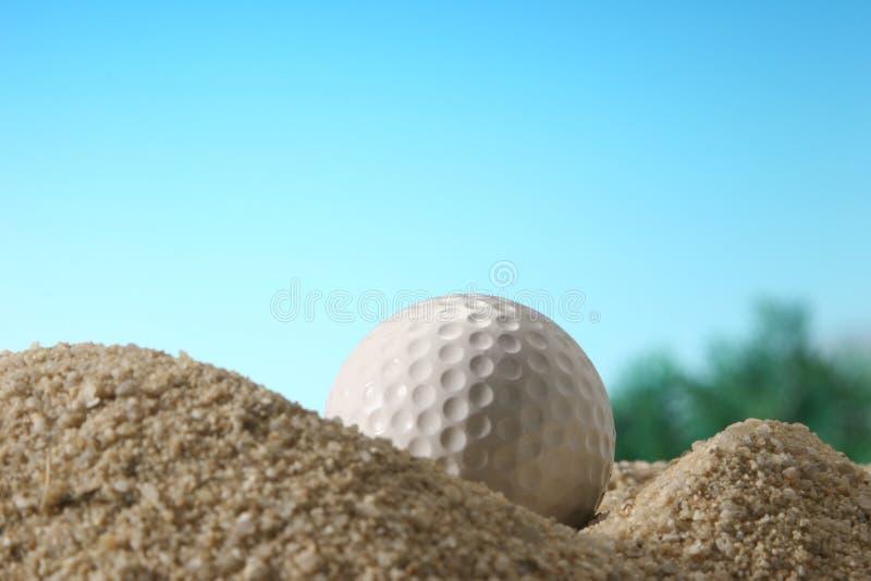 Sfera di golf. fotografie stock