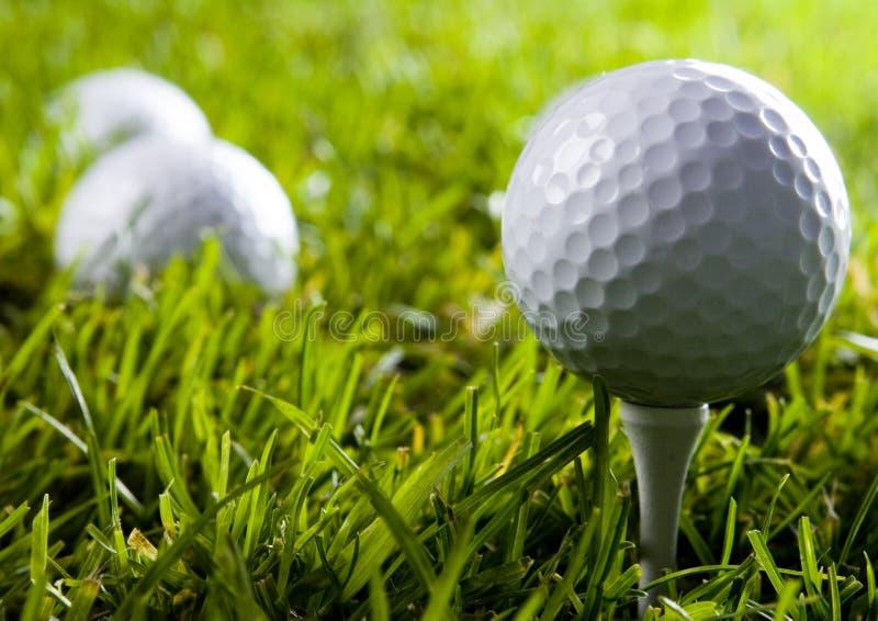 Download Sfera di golf immagine stock. Immagine di esterno, lusso - 7317349