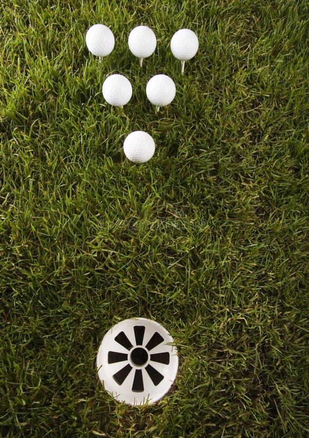 Download Sfera di golf fotografia stock. Immagine di concorrenza - 7317624