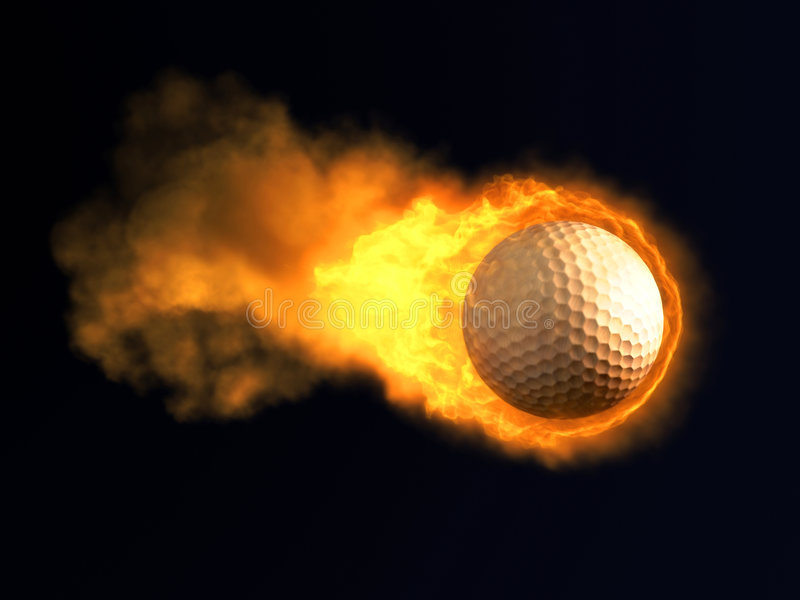 Sfera di golf Burning
