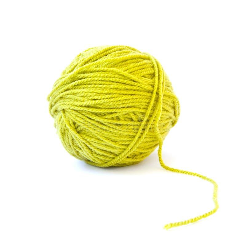 Sfera di lana immagini stock libere da diritti