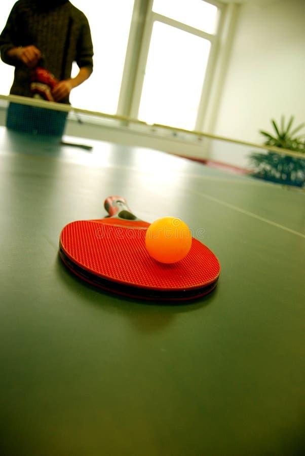Sfera di Ping-pong fotografia stock