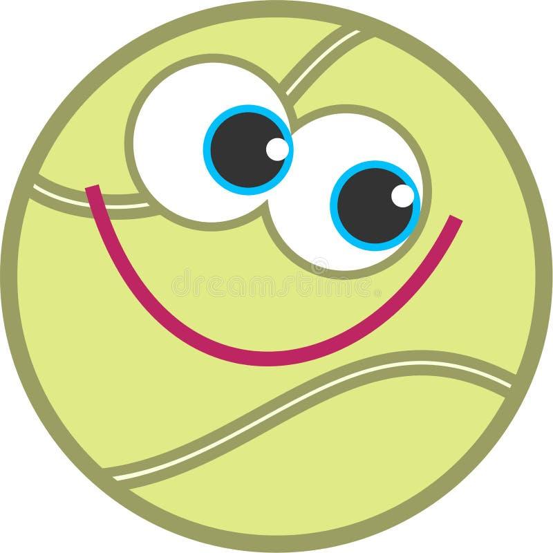 Sfera di tennis royalty illustrazione gratis
