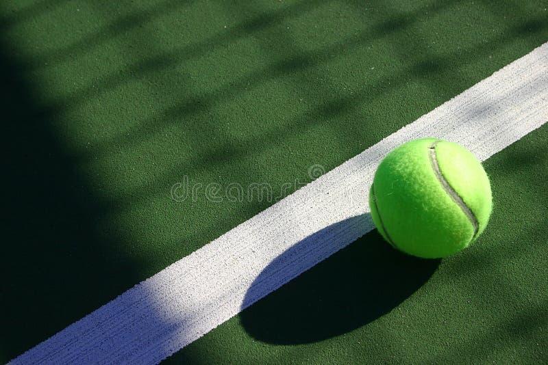 Sfera di tennis delle sfere immagini stock