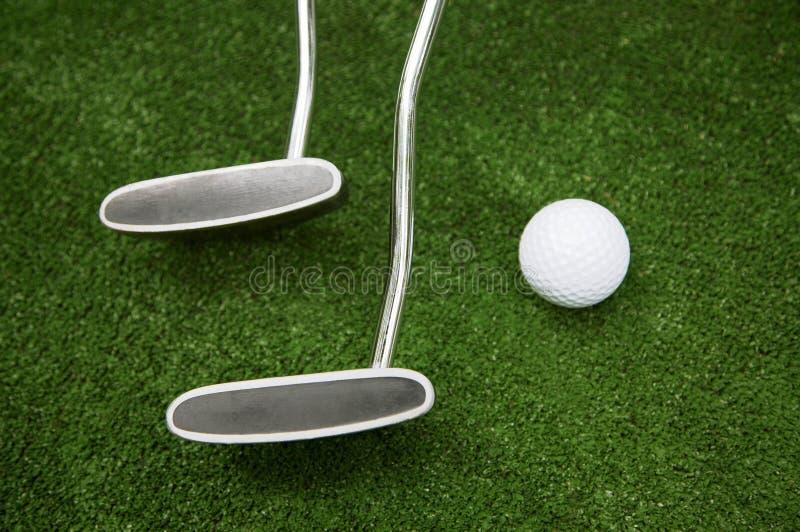 Sfera per un golf fotografie stock libere da diritti