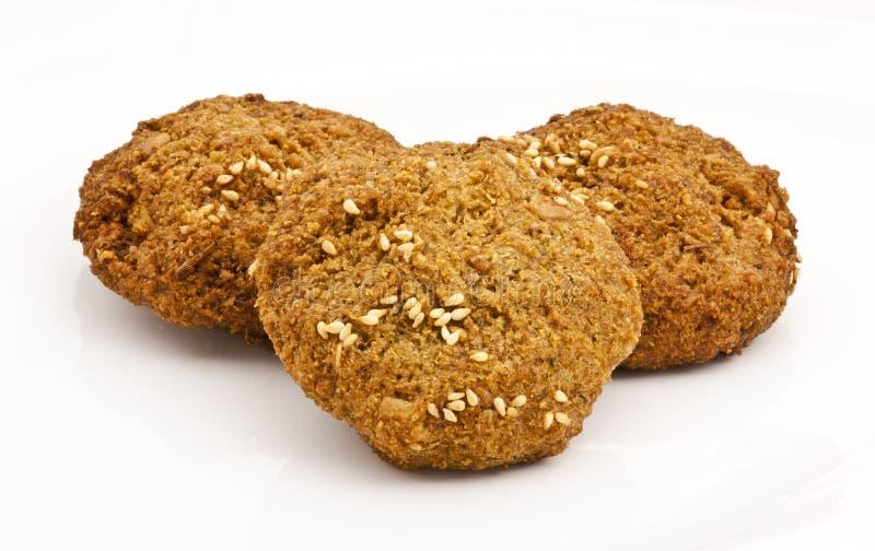 Sfere del Falafel immagini stock
