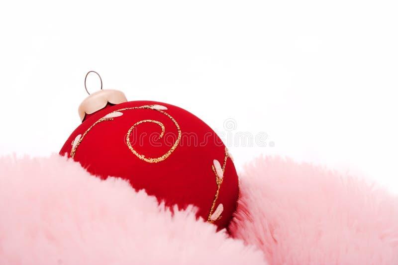 sfere delle decorazioni dell'Natale-albero fotografie stock libere da diritti