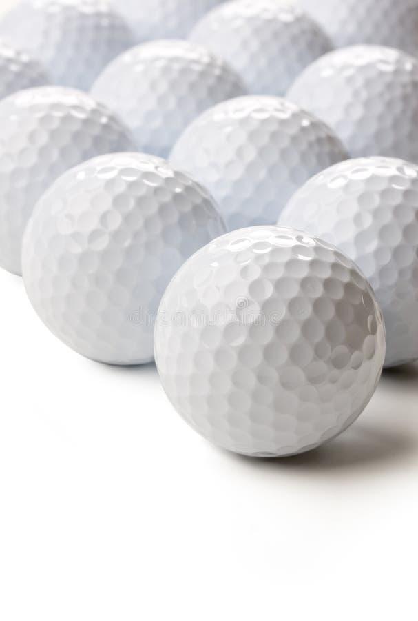 Sfere di golf fotografia stock