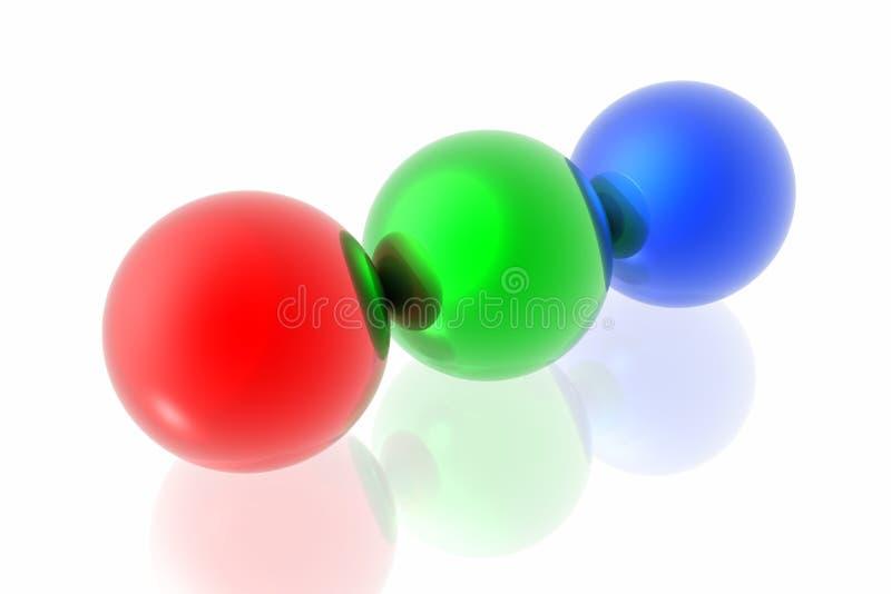Download Sfere di RGB illustrazione di stock. Illustrazione di stampa - 7323549