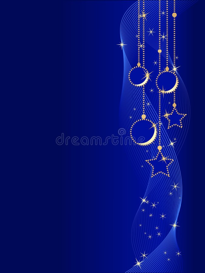 Download Sfere E Stelle Eleganti Di Natale Illustrazione Vettoriale - Illustrazione di festival, scintilla: 7315589