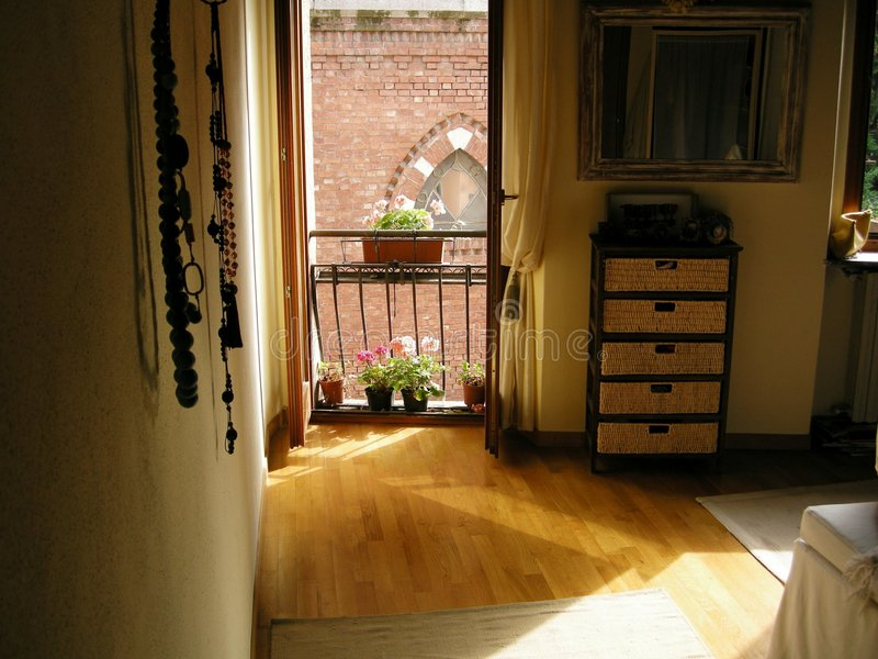 sferen romantische slaapkamer royalty-vrije stock afbeeldingen