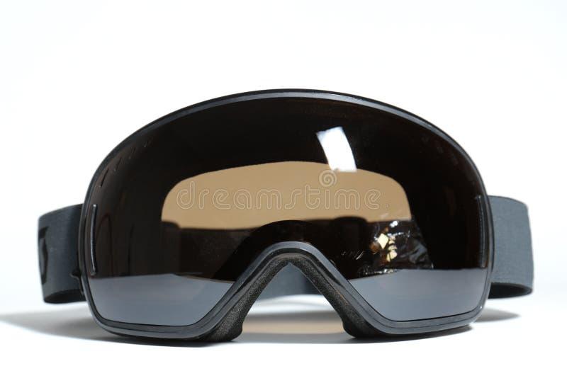 Sferical滑雪风镜 免版税库存照片