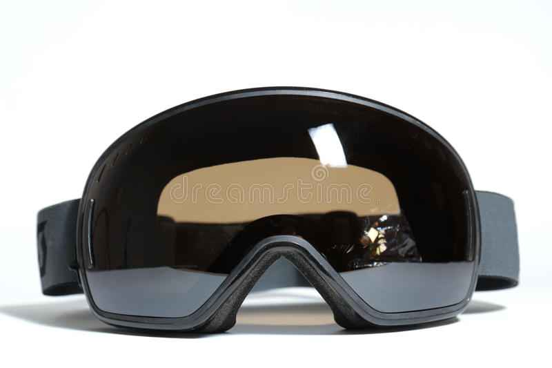 Sferical ski goggles royalty free stock photos