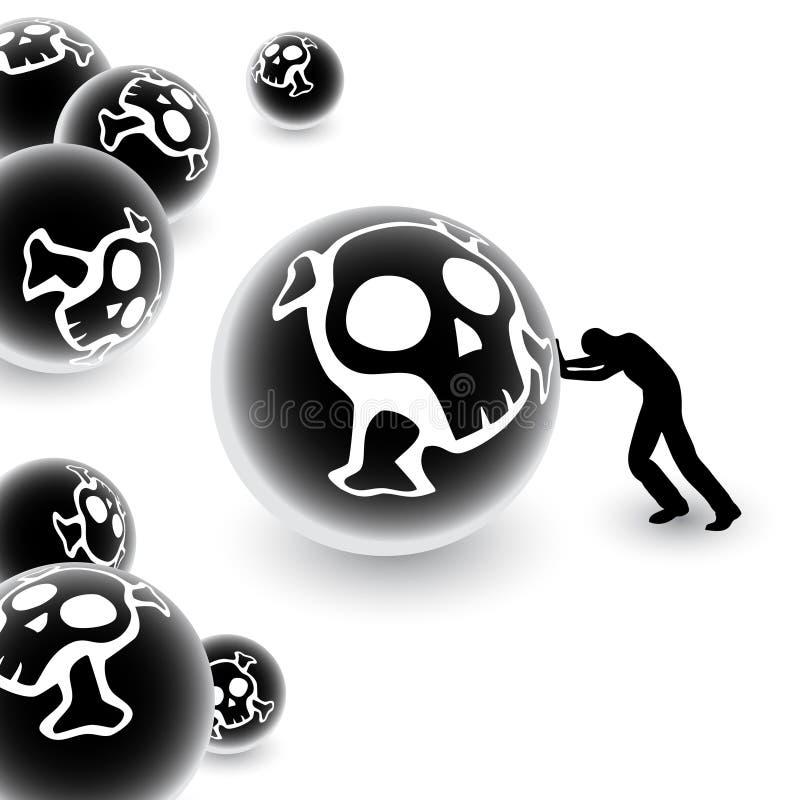 sfery toksyczne ilustracji