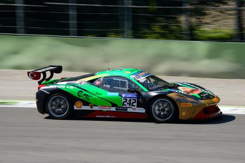 Sfida EVO di Galip Atar Ferrari 458 immagini stock