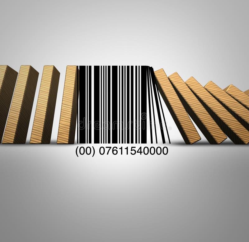 Sfide del commercio al dettaglio illustrazione vettoriale