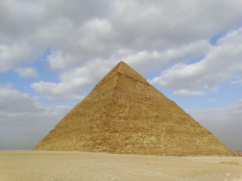 Sfinge di Giza e piramidi, Egitto immagine stock