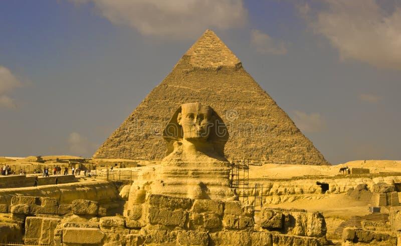 Download Sfinks zdjęcie stock. Obraz złożonej z krajobraz, egipt - 13337770