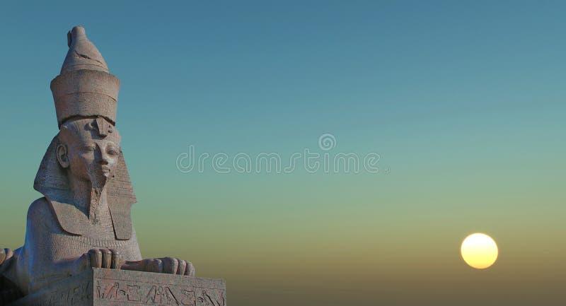 sfinks obrazy stock