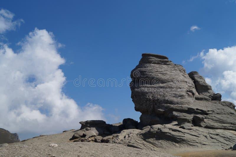 Sfinks Bucegi, Rumunia fotografia stock