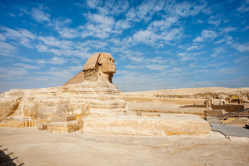 sfinks Egipt fotografia stock
