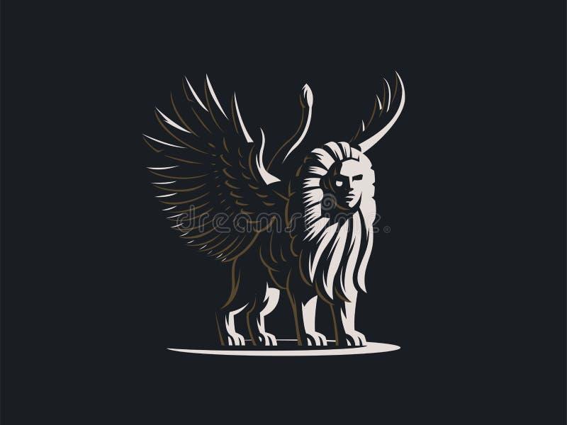 sfinks Mityczna istota ilustracji