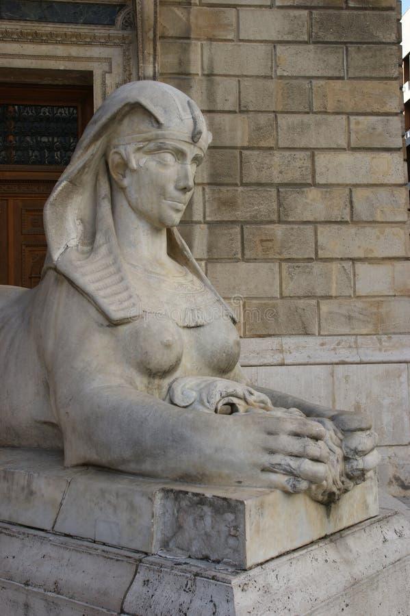 Sfinks statua zdjęcia royalty free