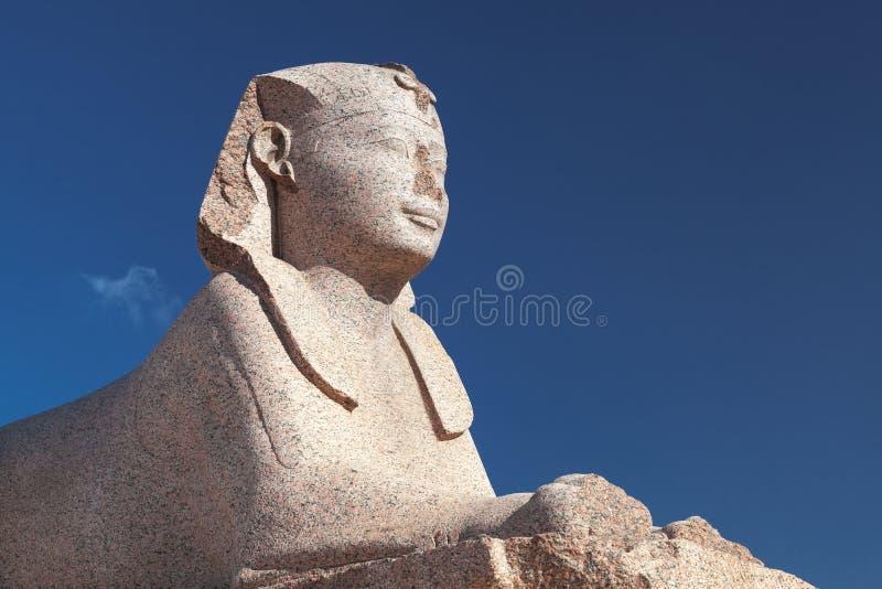Sfinks statua blisko Pompeys filaru zdjęcie stock