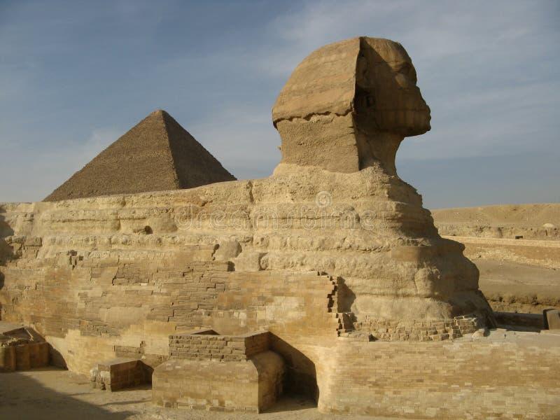 Sfinx van Giza stock fotografie