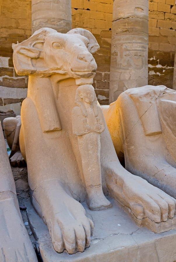 Sfinxen och den lilla mamman royaltyfri bild