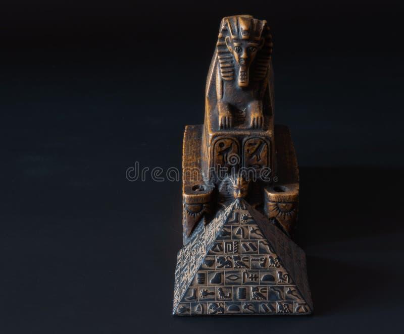 Sfinxstatyett royaltyfri bild
