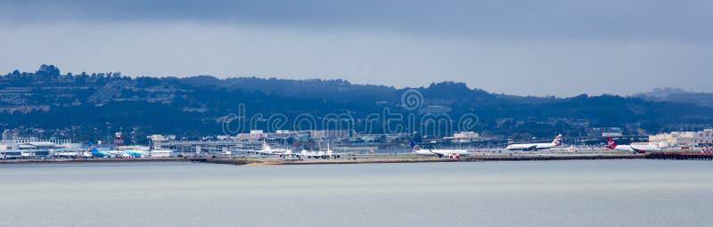 SFO San Francisco International lizenzfreie stockfotografie