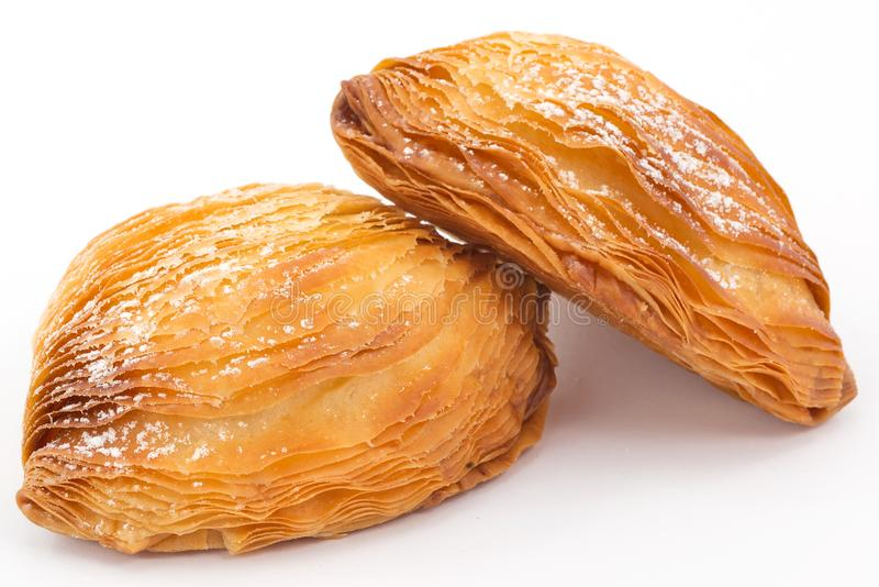 Sfogliatella napolitain photos libres de droits
