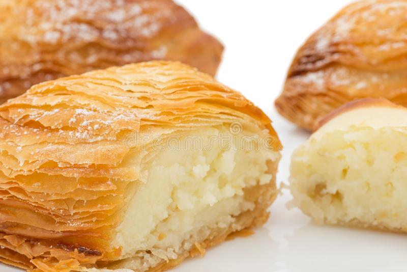 Sfogliatella napolitain photographie stock