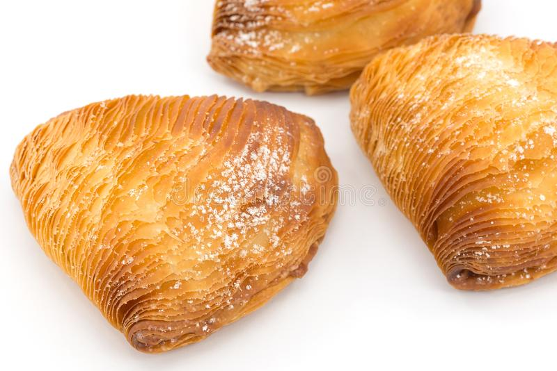 Sfogliatella napolitain photo libre de droits