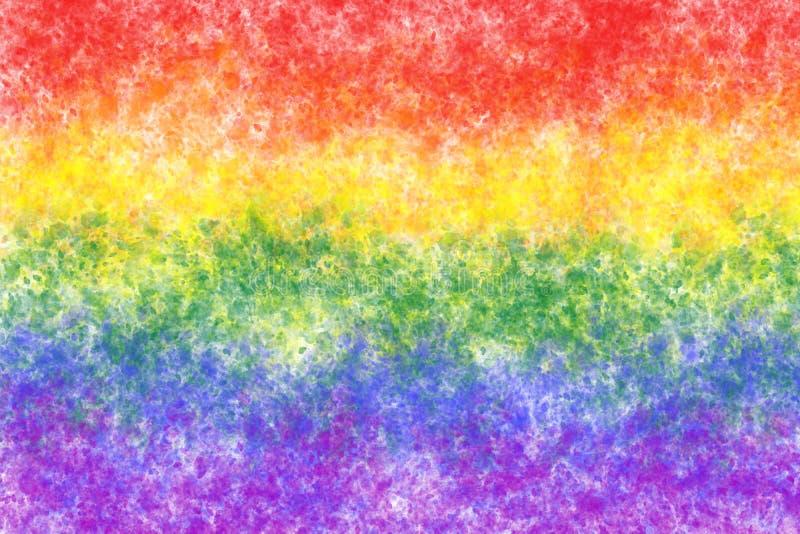 Sfondo abstract lgbt a colori arcobaleno generato digitalmente immagini stock libere da diritti