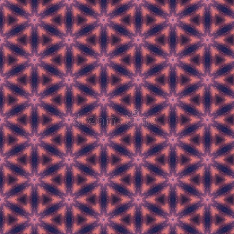 Sfondo astratto di colore rosa magenta e blu modello con struttura geometrica Sfondo ornamenti geometrici astratti royalty illustrazione gratis