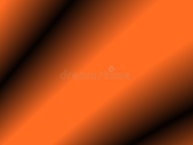 sfondo di Halloween, sfondo astratto a colori nero e arancione con gradiente, design per aule, sfondo autunnale, desktop, illustrazione vettoriale