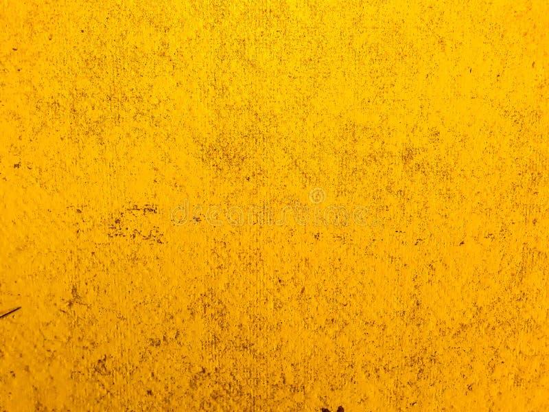 Sfondo di parete del pavimento della trama di colore in oro astratto fotografia stock libera da diritti