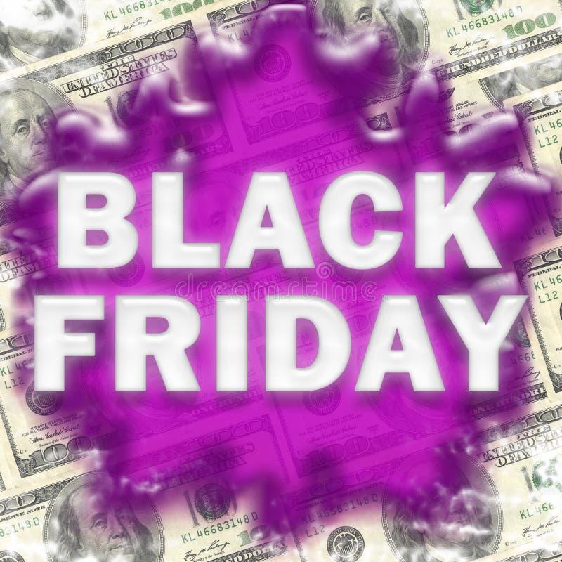 Sfondo di vendita di Black Friday immagini stock