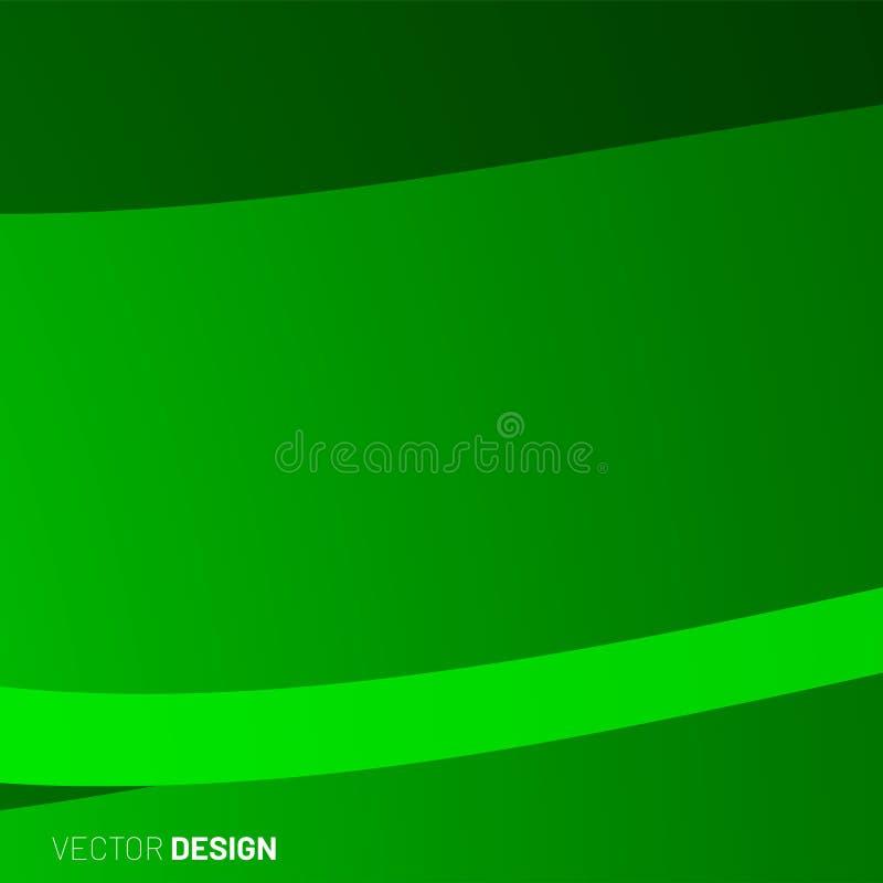 sfondo geometrico astratto onda di forma 3d illustrazione per Wallpaper, Banner, Background, Card, landing page royalty illustrazione gratis