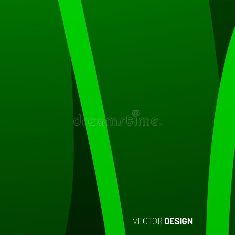 sfondo geometrico astratto onda di forma 3d illustrazione per Wallpaper, Banner, Background, Card, landing page illustrazione di stock