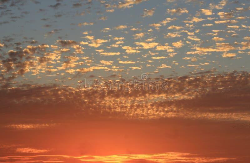 Sfondo naturale in cielo immagini stock