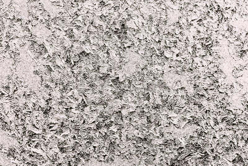 Sfondo naturale dell'estratto bianco del ghiaccio immagini stock