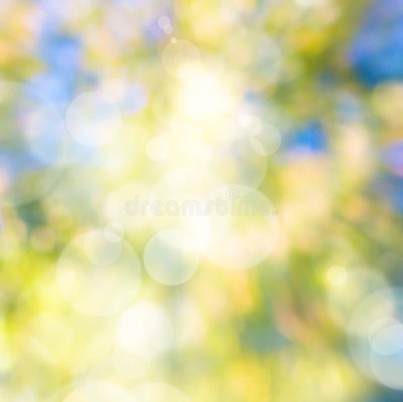 Sfondo naturale di autunno di arte astratta immagine stock libera da diritti