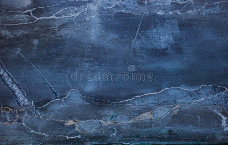 Sfondo Naturale Di Struttura Di Marmo Blu Del Modello Delloro