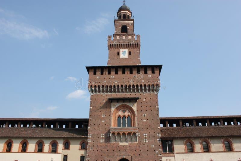 Sforza Castle στοκ φωτογραφίες με δικαίωμα ελεύθερης χρήσης