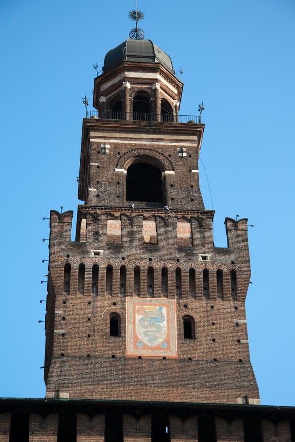 Download Sforza Castle stock photo. Image of italy, architecture - 8726052