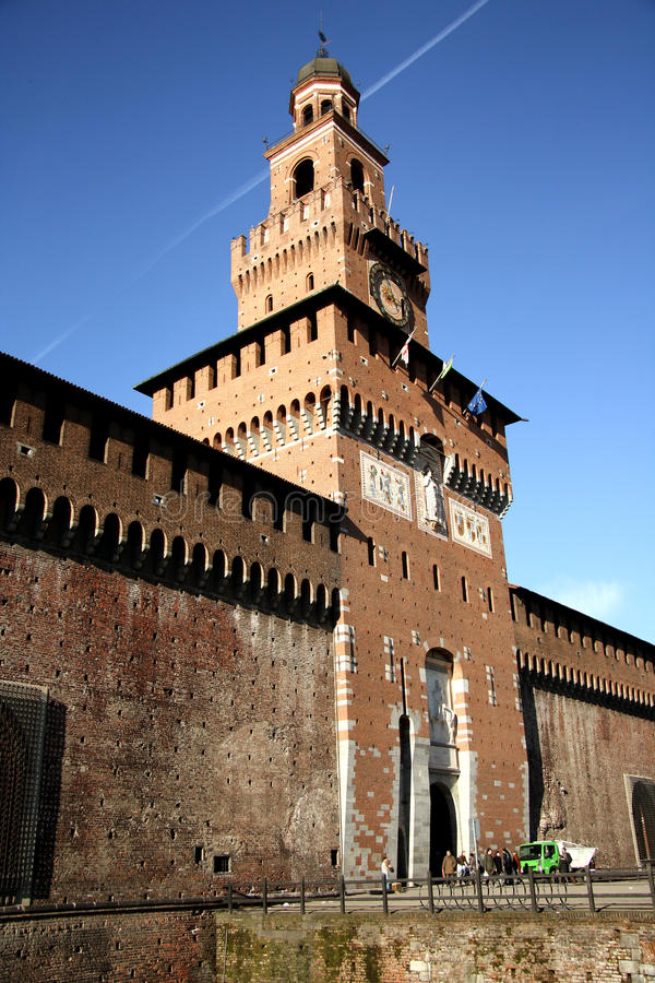 Download Sforza Castle In Milan, Italy Editorial Stock Photo - Image: 37266788