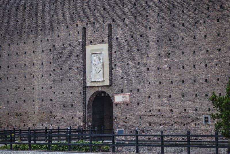 Download Sforza-Schloss In Mailand, Details Redaktionelles Foto - Bild von vergrößert, italienisch: 96933736
